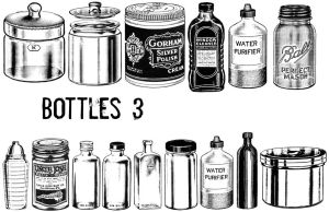 Bottles 3 by TheSarcophagusRoom