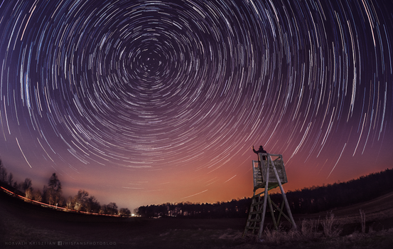 Startrails by hispanhun