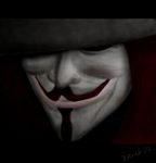 V for Vendetta by iitchyy