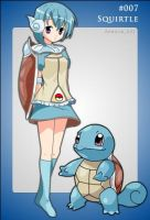 Squirtle Gijinka by Bombster
