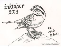 Inktober 2014 Drawing 2 by martianpictures