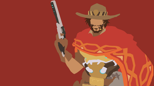 McCree from Overwatch by Reverendtundra