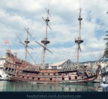 Galleon 01 by kuschelirmel-stock