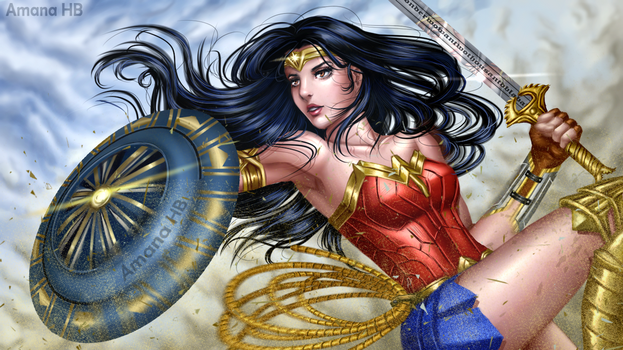 Wonder Woman by Amana-Jackson