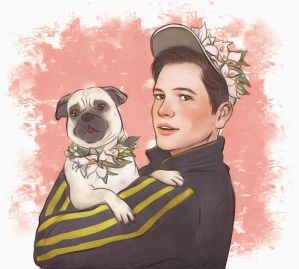 eggsy with pug by Gregory-Welter