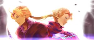 Elric Brothers by teralilac