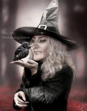 sweet witch by vivi-art
