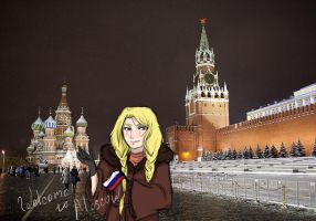 Izumi in Moscow by DaNy-Violet