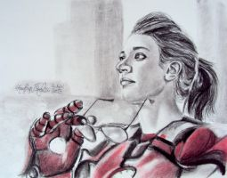 I am Iron Woman by KaytlynES