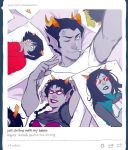 Homestuck: chilling vwith the vwaifus by PunPuniChu