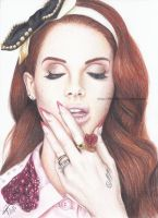 Lana Del Ray by BKLH362