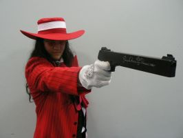 Alucard Cosplay by GregorytheImpaler