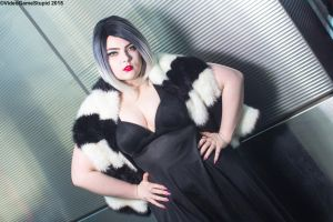 New York Comic Con 2015 - Cruella De Vil 1 by VideoGameStupid