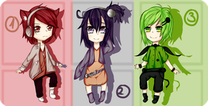 Eletric Adopts batch#1[OPEN] by Misachi-Adopts