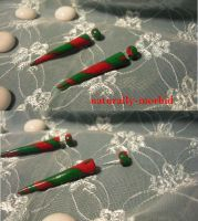 Candy Cane Faux Gauge 3 by naturally-morbid