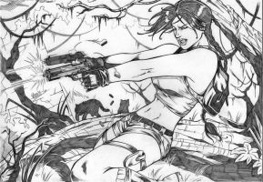 LARA CROFT by Dannith