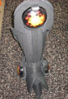 Boots with lights installed by FoamFusion