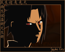 Sasuke Fury by Lordsiyei