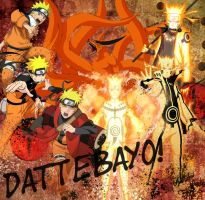 Naruto (Model T-shirt) by Jade-Anne