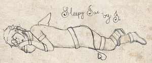 Sleepy Jac by Jmage-Art