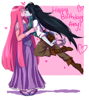 Bubbline . Tangled by starchiishio