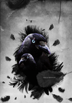 A Feathered Crow manip by GreenSlOw