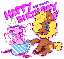 Happy Birthday Kaybee by Zhampy