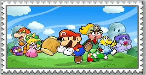 Paper Mario The Thousand Year Door Stamp by DarkraDx