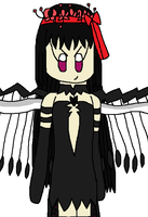 AT: Devil Homura Seedrian by angelthewingedcat