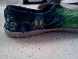 Luigi's Shoe 10 by jjsshoesxd