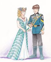 Sven and Romelle in Offical attire by Cheetoy