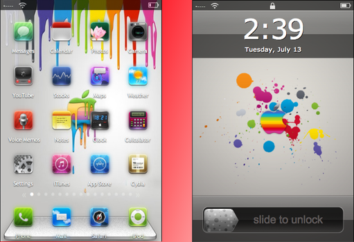 Apple Chromatic Theme by BodenM