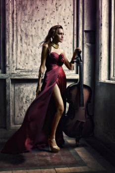 The Violinist by Vanquist