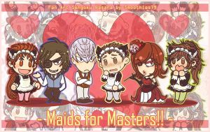 BASARA : Maids for Masters by smoothies79