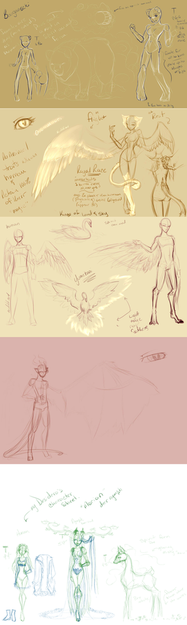 Oudo Rotaso WIP Species Sheets 2014 11