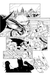 Batman AK issue 2 page 01 by aethibert