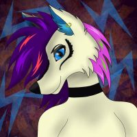 Kay. D (Katey) Punk star furry SPEED-PAINT by NadiaWolf240