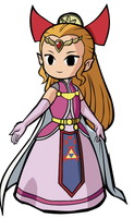 Zelda in COLOR by biiru-neko-1