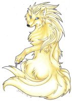 Ninetails by Pii-wing