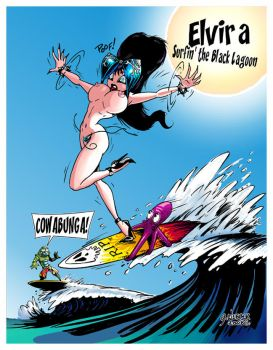 Surfin the Black Lagoon by spacecowboy76