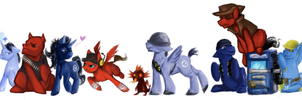 WAT SICK MAN SENDS PONIES TO FIGHT?! by Rets