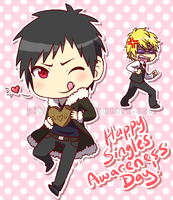 DRRR: Singles Awareness Day by asterkun