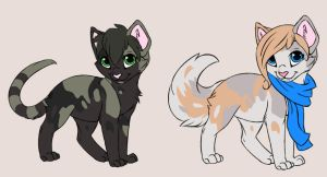 Stone X Aurora - Breedable Kits by ReaTheSnowCheetah