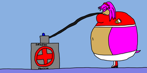 Request:Amy and the Inflation Machine part 8 by TruePhazonianForce