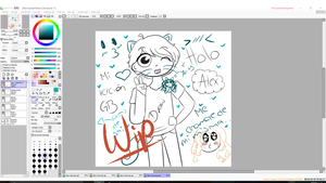 Alex Wip by suufro