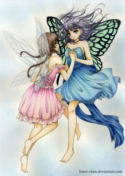 Fairies by Limei-chan