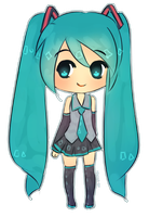 Hatsune Miku~ by iekika-bp