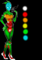 Aii- BodyChart by QuintonQuill
