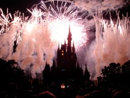 Disney Fireworks by 7xxxx