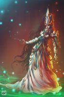 Queen of magic by WhiteLeyth